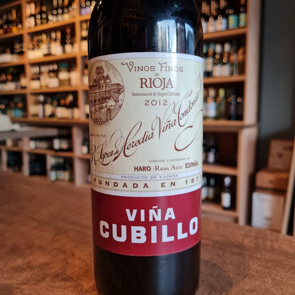 Viña Cubillo Rioja