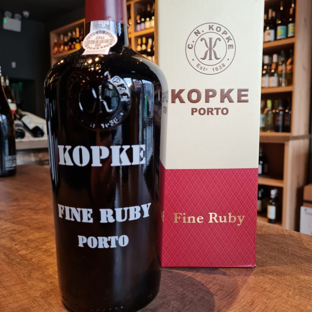 Kopke Fine Ruby Port Gift Carton
